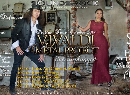 Vivaldi Metal Project - Unplugged Italian Tour 2017