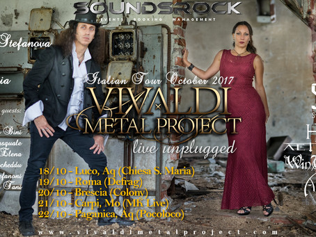 Vivaldi Metal Project - Unplugged Italian Tour 2017