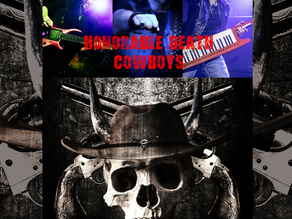 """Honorable Death Cowboys single 'Into The Depth"""" OUT NOW!"""