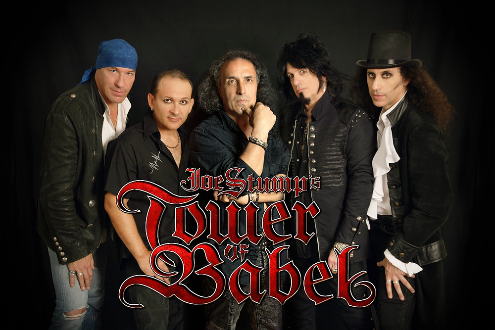 Joe Stump's Tower of Babel with new singer Jo Amore