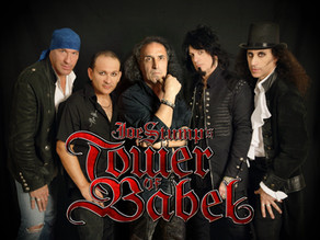 Joe Stump's Tower of Babel announce new singer Jo Amore