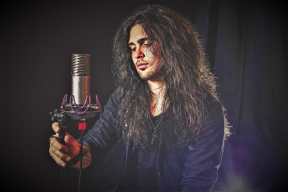 Mattia Martin singer Vivaldi Metal Project 2