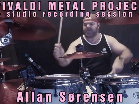 New Album Featured Artist - Drummer Allan Sorensen