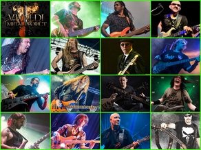 Vivaldi Metal Project 2nd Studio Album Featured Bassists