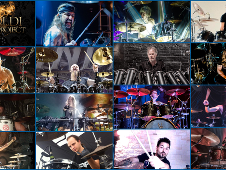 Vivaldi Metal Project 2nd Studio Album Featured Drummers