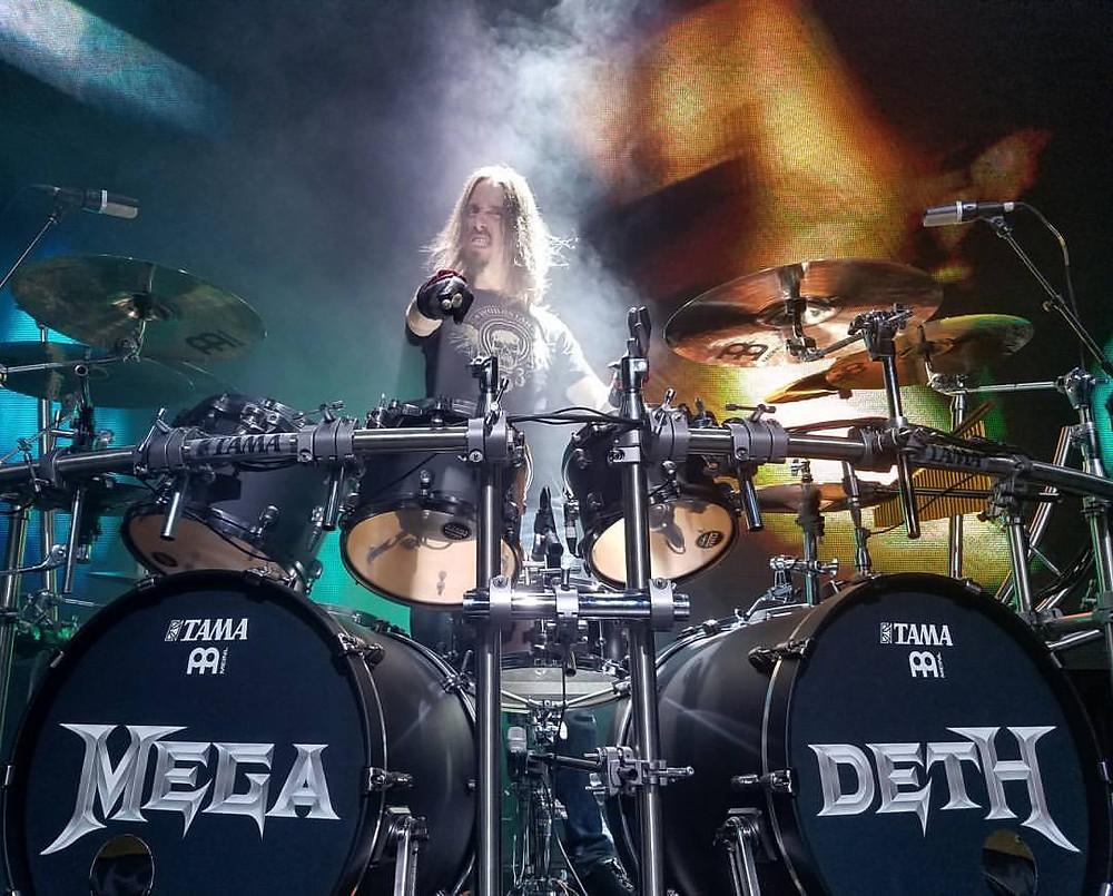 Dirk Verbeuren of Megadeth drummer in Vivaldi Metal Project new album