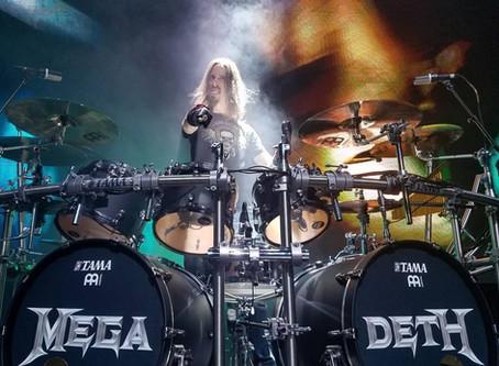New Album Featured Artist - Drummer Dirk Verbeuren