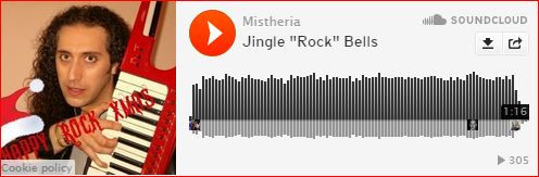 mistheria jingle bells rock keytar