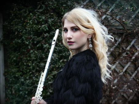 New Album Featured Artist - Flutist Eszter Anna Baumann