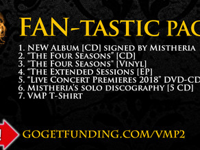 New Studio Album - FAN-tastic package available in our crowdfunding campaign