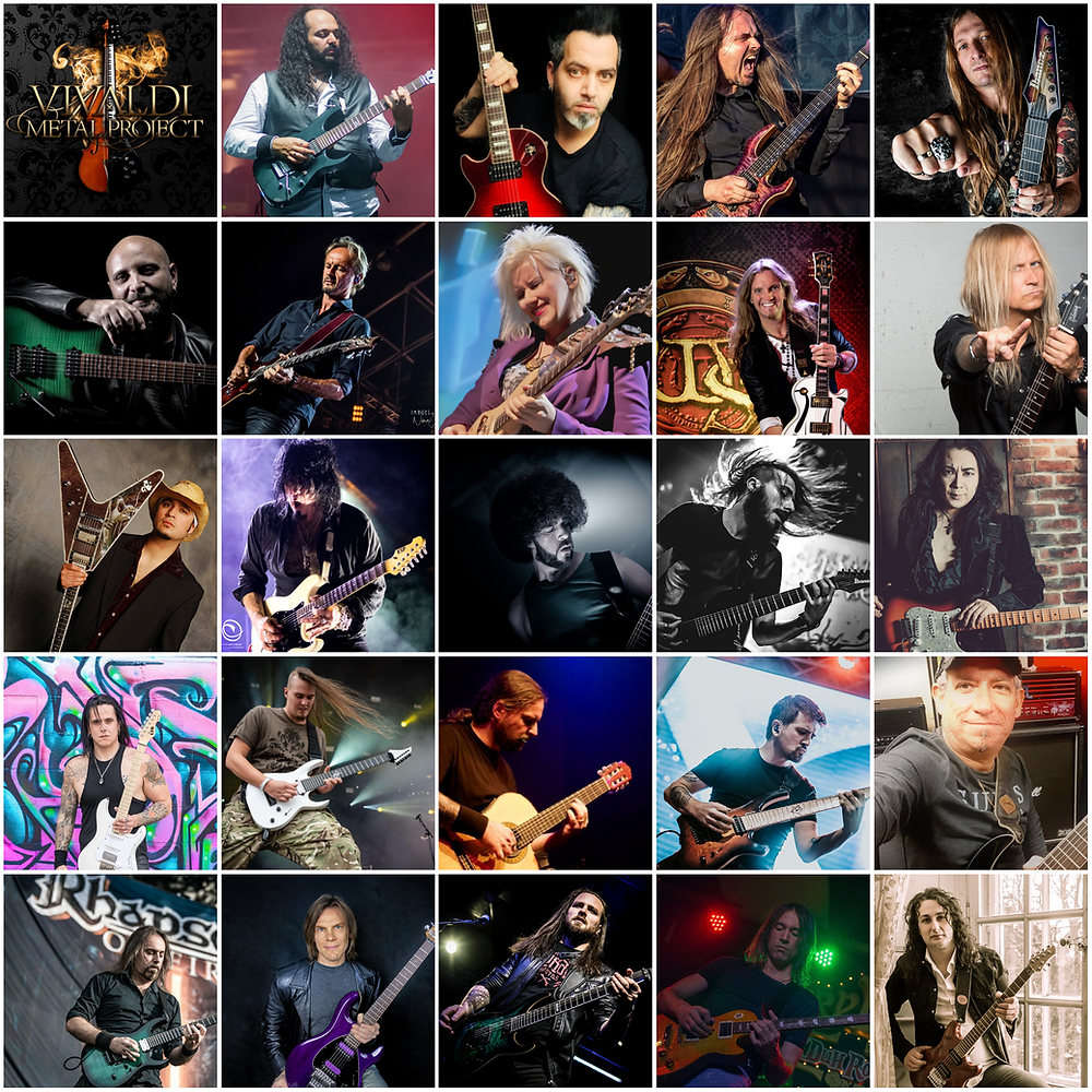 Vivaldi Metal Project 2 featured keyboard players