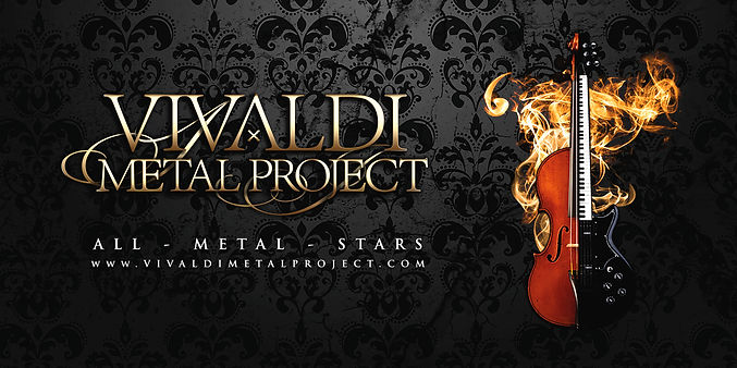 Vivaldi Metal Project -official banner