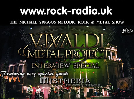 The Michael Spiggos Melodic Rock Show featuring Mistheria (Mixcloud)