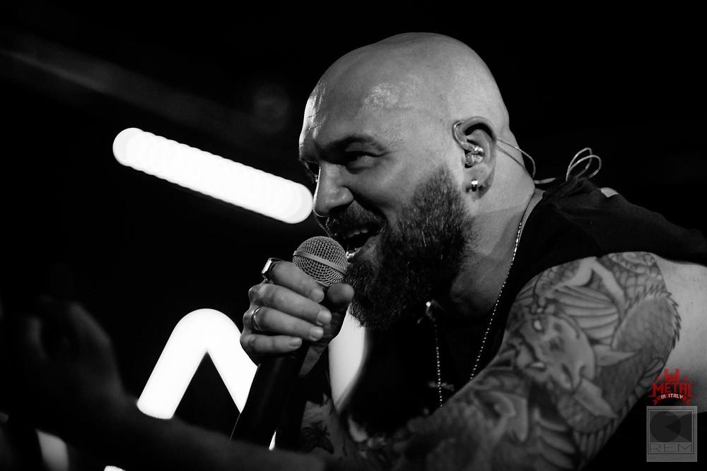 Marco Sandron of Starsick System singer in Vivaldi Metal Project 2