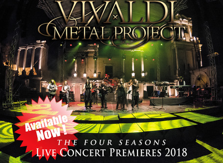 Live Concert Premieres 2018 DVD boxed-set out now!