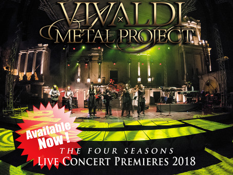 Live Concert Premieres 2018 DVD boxed-set out now!