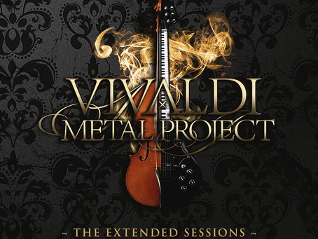 Vivaldi Metal Project - The Extended Sessions - EP revealed!