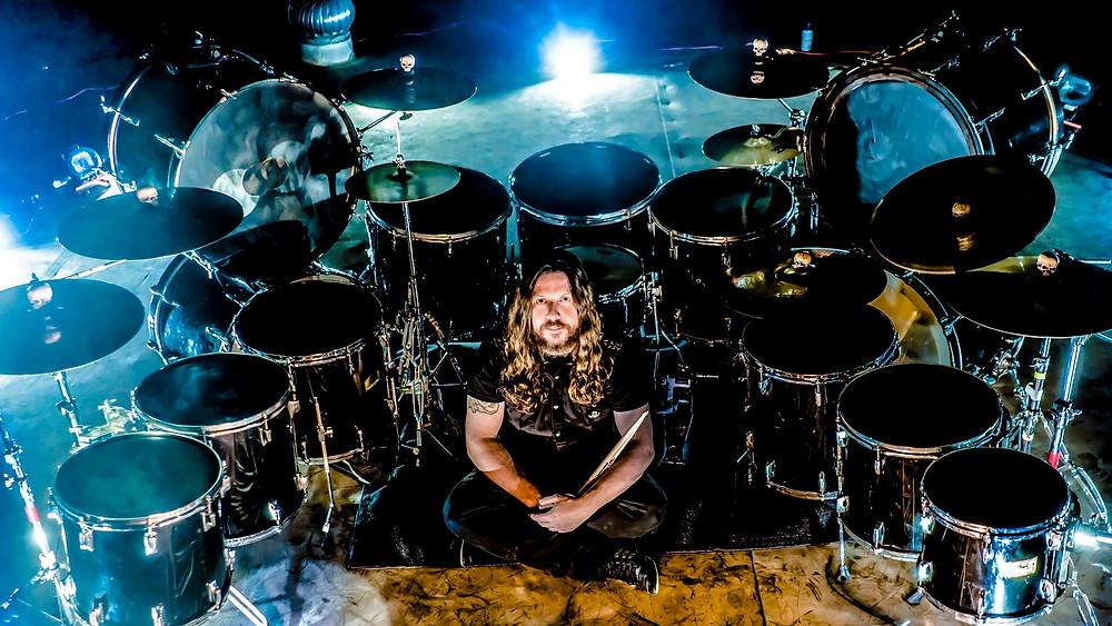 Marcelo Moreira drummer Vivaldi Metal Project 2