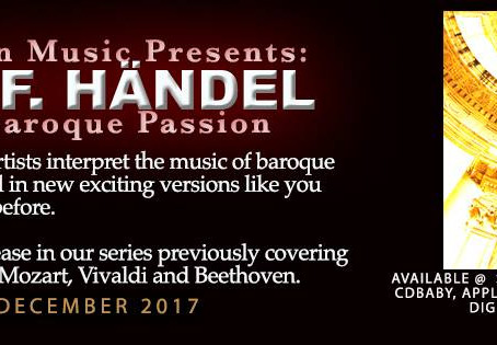 Handel 'Baroque Passion' compilation out now!