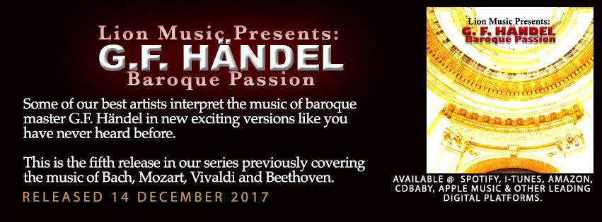 Lion Music Presents: G.F. Händel – Baroque Passion