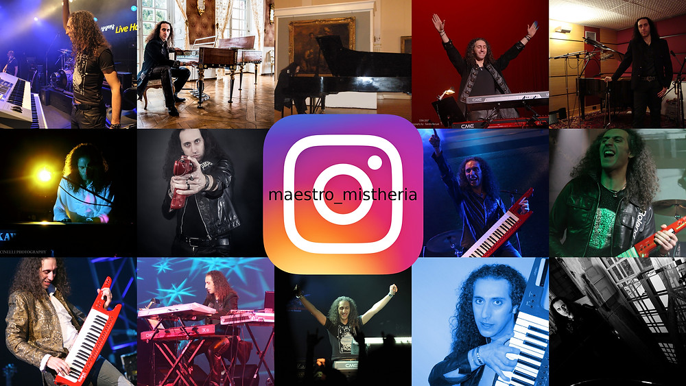 Mistheria Instagram profile at maestro_mistheria