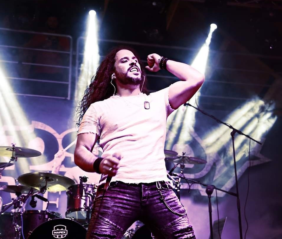 Giacomo Voli of Rhapsody of Fire singer Vivaldi Metal Project 2