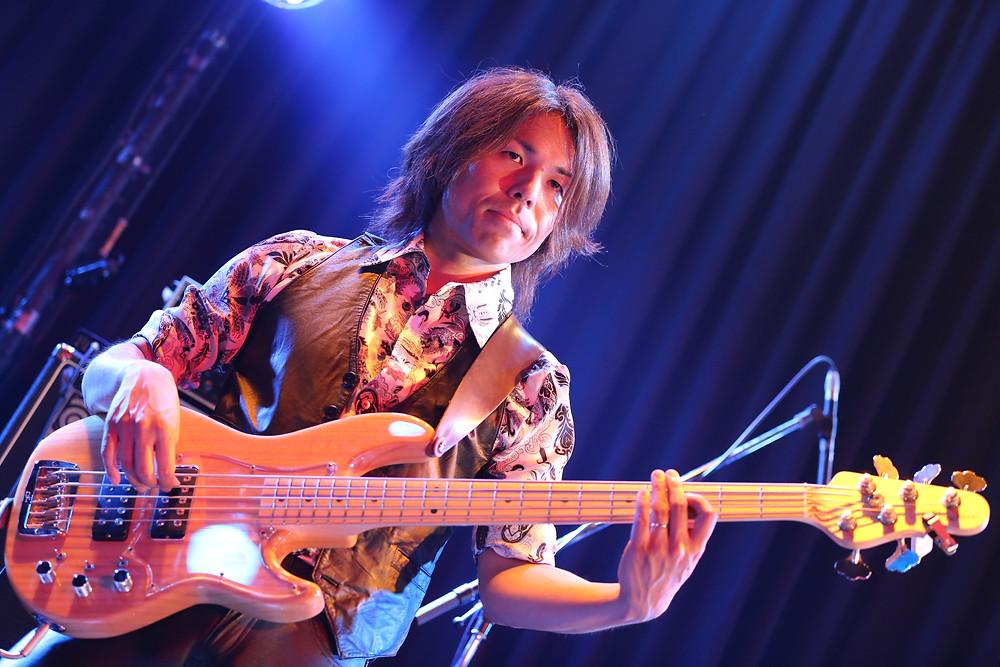 Kaz Nakamura bassist Vivaldi Metal Project 2
