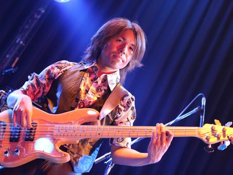 New Album Featured Artist - Bassist Kaz Nakamura