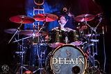 Joey Marin de Boer drummer Delain for Vi