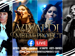 Vivaldi Metal Project Facebook LiveStream Chat on April 10, 2020