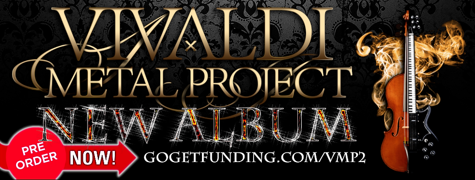 Vivaldi Metal Project 2 new album banner