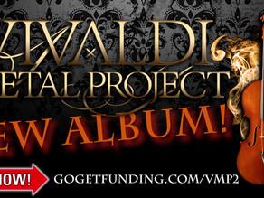 New studio album campaign launched!
