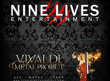 Vivaldi Metal Project joins Nine Lives Entertainment
