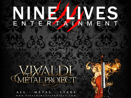 Vivaldi Metal Project joins Nine Lives Entertainment