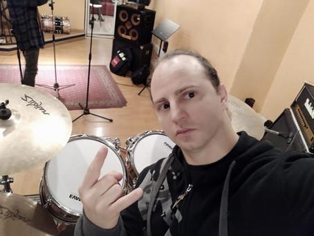 New Album Featured Artist - Drummer David Folchitto
