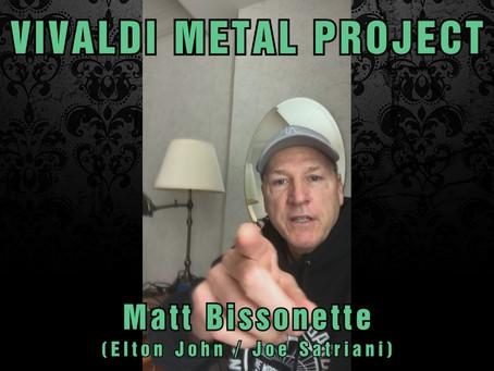 New Album Featured Artist - Bassist Matt Bissonette