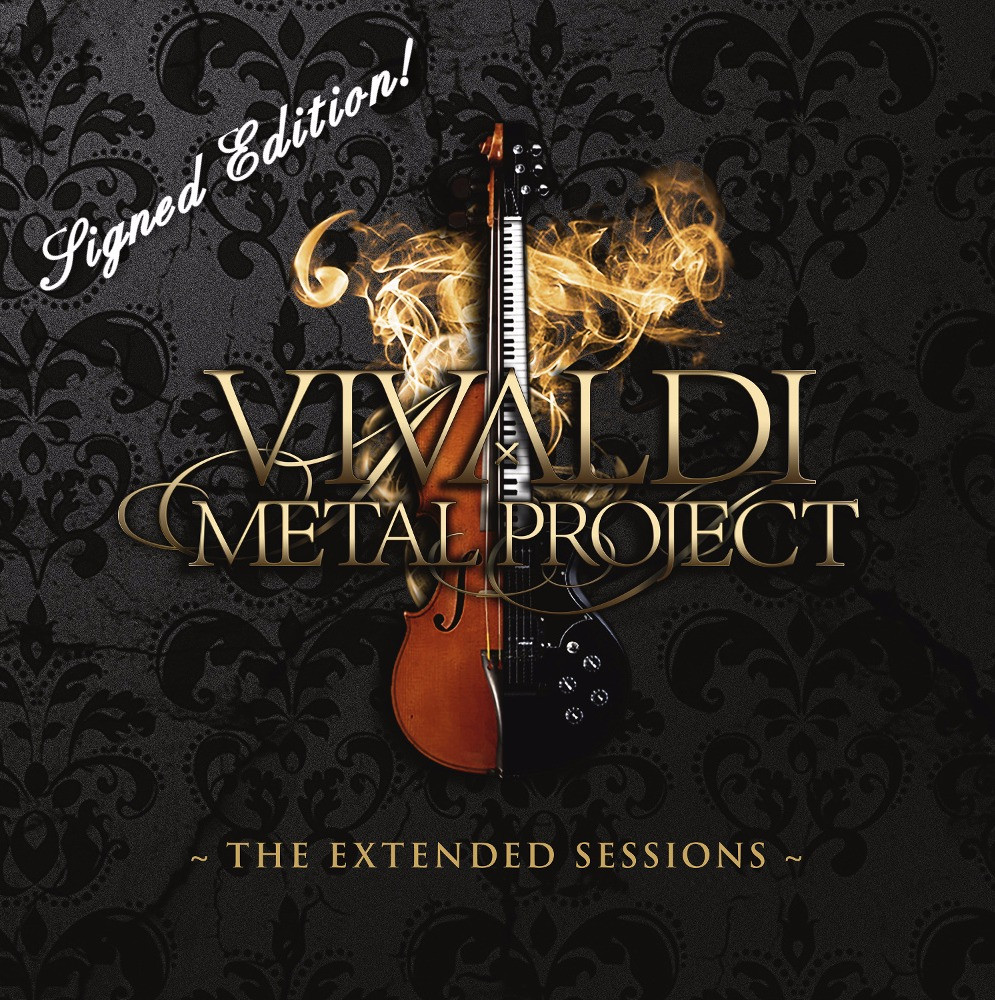 Vivaldi Metal Project - The Extended Sessions - signed edition EP