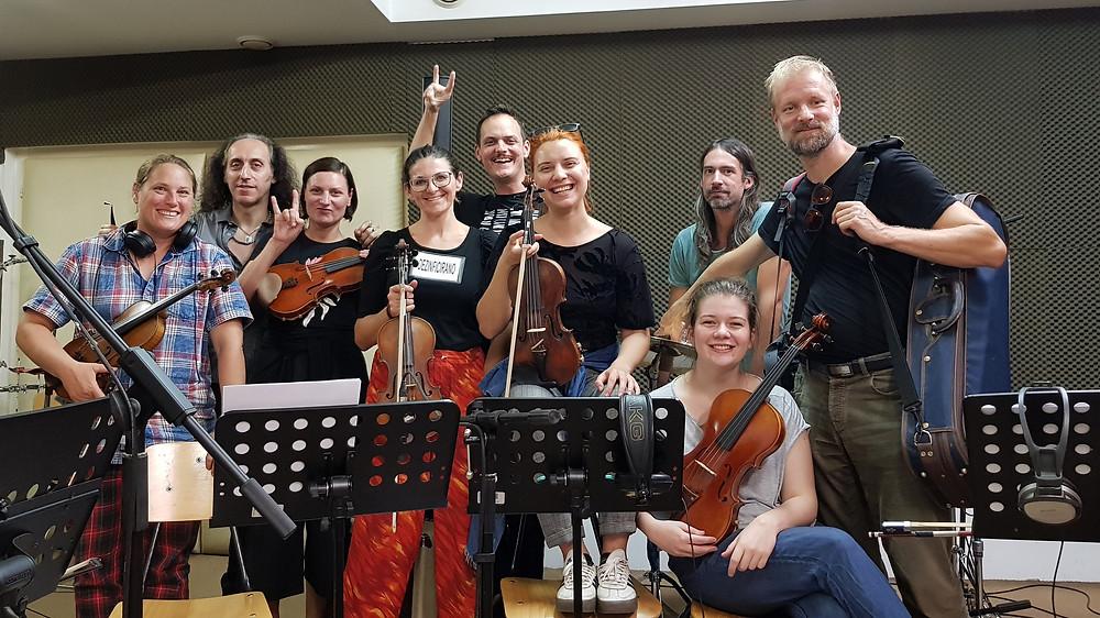 Zagrebacki Salonski Ansambl recorded on Vivaldi Metal Project 2nd studio album