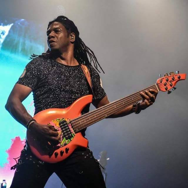Philip Bynoe bassist Vivaldi Metal Project