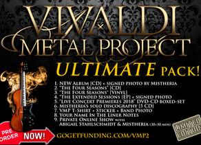 Vivaldi Metal Project - New Studio Album ULTIMATE pack