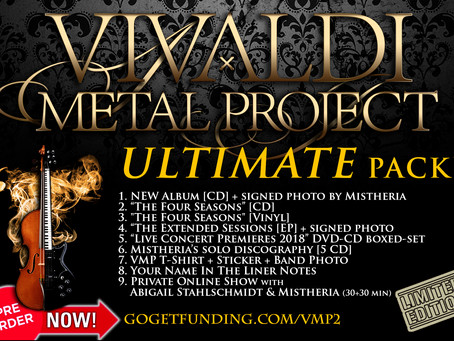 Vivaldi Metal Project - New Studio Album ULTIMATE pack