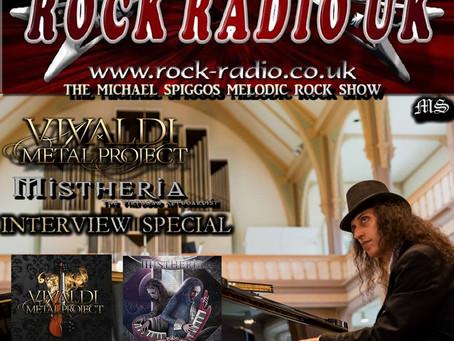 Interview on Rock Radio UK