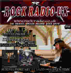 Mistheria in The Michael Spiggos Melodic Rock Radio Show on Rock Radio UK!