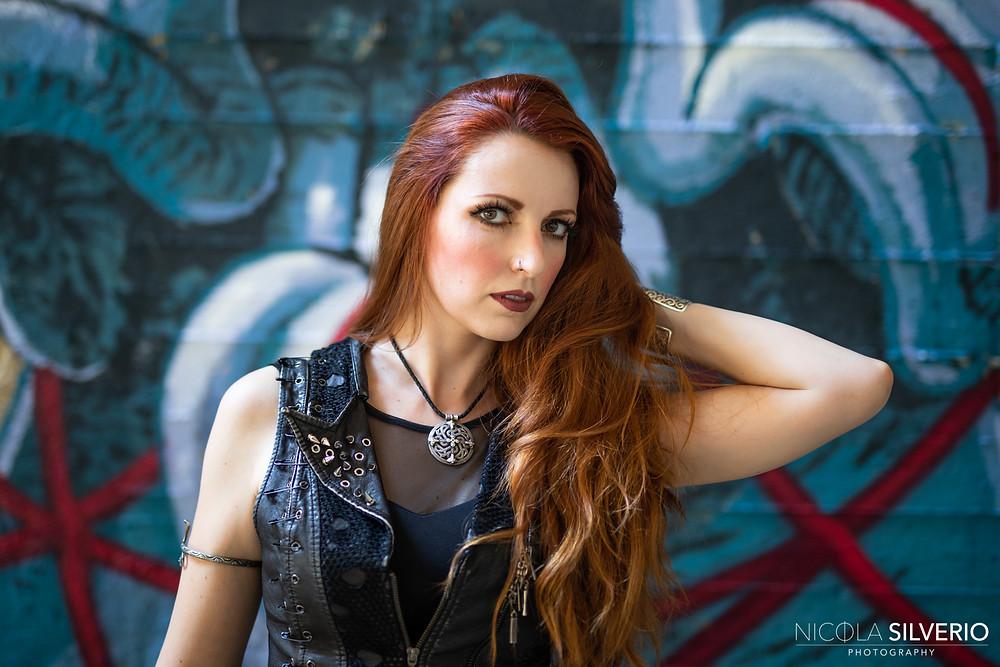 Chiara Tricarico vocalist lyricist Vivaldi Metal Project 2