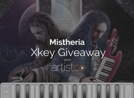 Xkey giveaway with Artistco