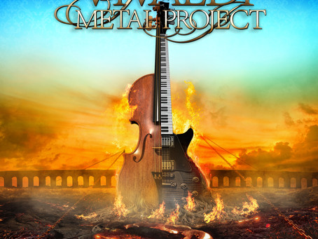 Vivaldi Metal Project - New Album Cover Artwork and Title Unveiled!