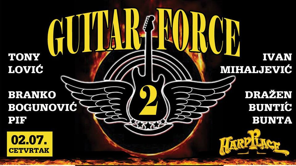 Guitar Force 2 Zagreb ft. Mistheria 2020-07-02