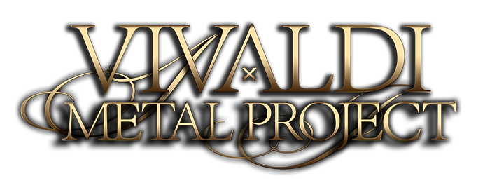 Vivaldi Metal Project logo gold on white