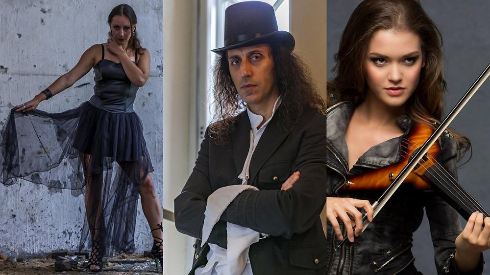 Vivaldi Metal Project unplugged booking - Mistheria Tsena Abigail Stahlschmidt