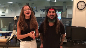 Abigail Stahlschmidt and Mike Portnoy